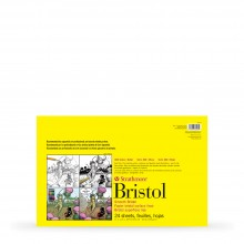 Strathmore : 300 Series : Sequential Art Bristol Pad : 270gsm : 24 Sheets : 11x17in : Smooth