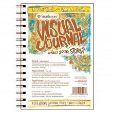 Strathmore : Visual Journal : Bloc Papier Bristol : 163gsm : 14x21cm : Fini Vélin