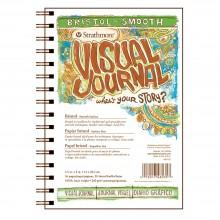 Strathmore : Visual Journal : Bloc Papier Bristol : 163gsm : 14x21cm : Surface Lisse