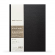 Strathmore : 400 Series : Hardbound Toned Tan Mixed Media Sketchbook : 300gsm : 48 Pages : 8.5x11in