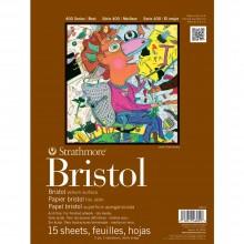 Strathmore : Série 400 : Papier Bristol : 28x35cm : 2 - Epaisseurs : Fini Vélin (Medium)