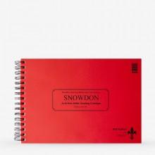 Snowdon :Bloc Encollé : Papier Cartouche : 130g : A4 : 100 Feuilles : Mat
