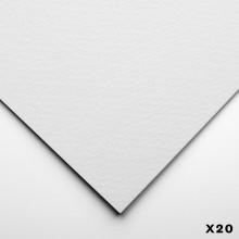 Stonehenge : Aqua : Papier Aquarelle  : 400lb (640g) : 56x76cm : Grain Fin : 20 Feuilles