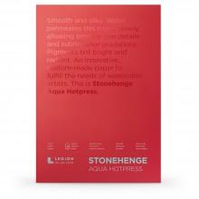 Stonehenge : Aqua : Papier Aquarelle : Bloc : 140lb (300g) : 14x20in : Grain Satiné