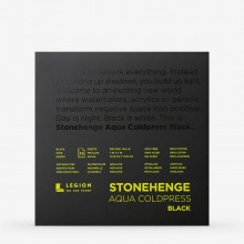 Stonehenge : Aqua Black Watercolour Paper Pad : 140lb (300gsm) : 7x7in : Not