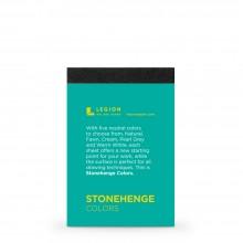 Stonehenge :Bloc de Couleurs : 9.5x6.3cm : Echantillon  : 1 Par Commande