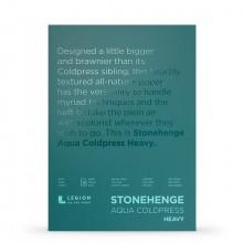 Stonehenge : Aqua Heavy Watercolour Paper Block : 300lb (600gsm) : 10x14in : Not
