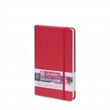 Royal Talens : Art Creation : Hardback Sketchbook : 13x21cm : Red