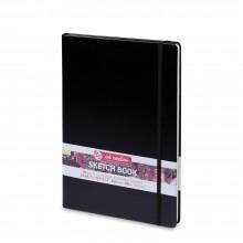 Royal Talens : Art Creation : Hardback Sketchbook : 21x30cm : Black