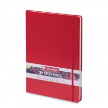Royal Talens : Art Creation : Hardback Sketchbook : 21x30cm : Red