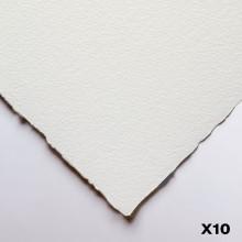 Winsor & Newton : Professional : Papier Aquarelle : 640gsm : 56x76cm : 10 Feuilles : Grain Torchon