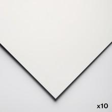 Yupo : Papier Aquarelle Grain Moyen  : 74lb (200gsm) : 26x40in : 10 Feuilles : Blanc