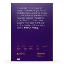 Yupo : Heavy Watercolour Paper Pack : 144lb (390gsm) : A3 : 5 Sheets : White