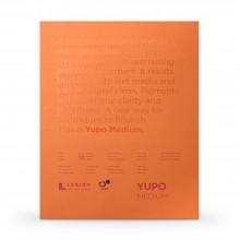 Yupo : Papier Aquarelle Grain Moyen  Pad : 74lb (200gsm) : 28x35cm : 10 Feuilles : Blanc