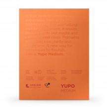 Yupo : Papier Aquarelle Grain Moyen  Pad : 74lb (200gsm) : 20x30cm : 10 Feuilles : Blanc
