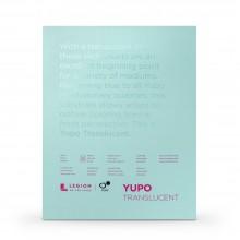 Yupo :Bloc de Papier Translucide: Aquarelle : 104lb (153gsm) : 28x35cm : 10 Feuilles