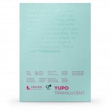 Yupo :Bloc de Papier Translucide: Aquarelle : 104lb (153gsm) : 12x18cm : 10 Feuilles
