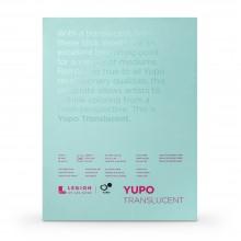 Yupo :Bloc de Papier Translucide: Aquarelle : 104lb (153gsm) : 6x15in : 10 Feuilles