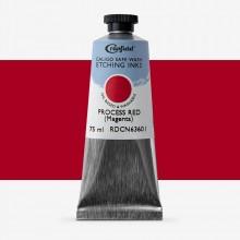 Cranfield : Caligo : Safe Wash : Encre taille-douce : 75ml : Magenta (couleur primaire quadrichromie)