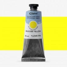 Cranfield : Caligo : Safe Wash : Encre à Gravure : 75ml : Arylide Yellow (Process)