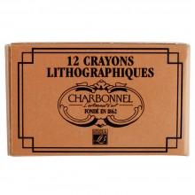 Charbonnel : Lithographic: Crayon : No 1 : Dur : Boîte de 12