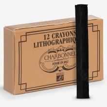 Charbonnel : Lithographic: Crayon : No 2 : Medium : Boîte de 12