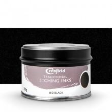 Cranfield :Encre pour Gravure Traditionnelle : 250g : Mid Black