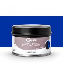 Cranfield :Encre pour Gravure Traditionnelle : 250g : Orient Blue