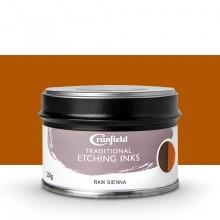 Cranfield :Encre pour Gravure Traditionnelle : 250g : Raw Sienna