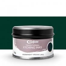 Cranfield :Encre pour Gravure Traditionnelle : 250g : Permanent Viridian Lake