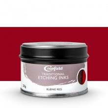 Cranfield :Encre pour Gravure Traditionnelle : 250g : Rubine Red
