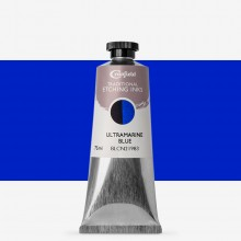 Cranfield :Encre pour Gravure Traditionnelle : 75ml : Ultramarine Blue