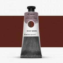 Cranfield :Encre pour Gravure Traditionnelle : 75ml : Burnt Sienna