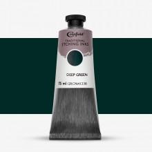 Cranfield :Encre pour Gravure Traditionnelle : 75ml : Deep Green