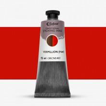Cranfield :Encre pour Gravure Traditionnelle : 75ml : Vermillion (Hue)