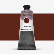 Cranfield :Encre pour Gravure Traditionnelle : 75ml : Carmine Red