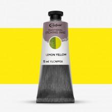 Cranfield :Encre pour Gravure Traditionnelle : 75ml : Lemon Yellow
