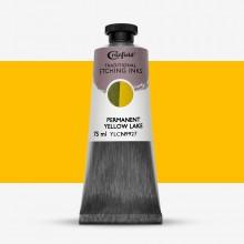 Cranfield :Encre pour Gravure Traditionnelle : 75ml : Permanent Yellow Lake