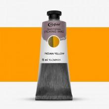 Cranfield :Encre pour Gravure Traditionnelle : 75ml : Indian Yellow