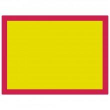 Jackson's :Plaque pour Sérigraphie en Aluminium 120T Maille Jaune : 31x23 inches