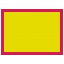 Jackson's :Plaque pour Sérigraphie en Aluminium 90T Maille Jaune : 31x23 inches