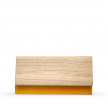 Studio Essentials : Wooden Squeegee With Clear Rubber : 215mm Long