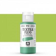 Vallejo :Peinture sur Textile: 60ml: Fluorescent Green