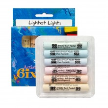 Art Spectrum :Pastel Tendre : Lot de  6 : Lightest Lights Lightest Lights