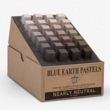 Blue Earth :Pastel Tendre : Boite de 28 Bâtonnets: Nearly Neutral Warm