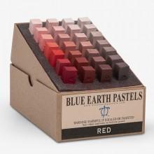 Blue Earth :Pastel Tendre : Boite de 28 Bâtonnets: Red