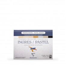 Clairefontaine : Ingres: Papier Pastel Encollé : 24x30cm : Neutral Colours