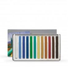 Cretacolor : Carres : Lot de 12 Landscape Colours