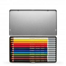 Swan Stabilo : Carbothello : Crayon Pastel : Boite en Métal de 12