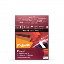 Daler Rowney : Murano : Papier Pastel : 20x30cm: Warm Colours